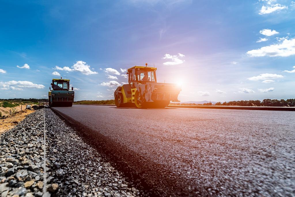 カンタン紹介!舗装工事の種類と施工法